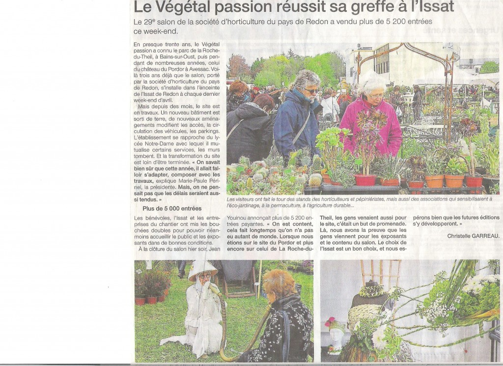 Article Ouest France du 25042016 001