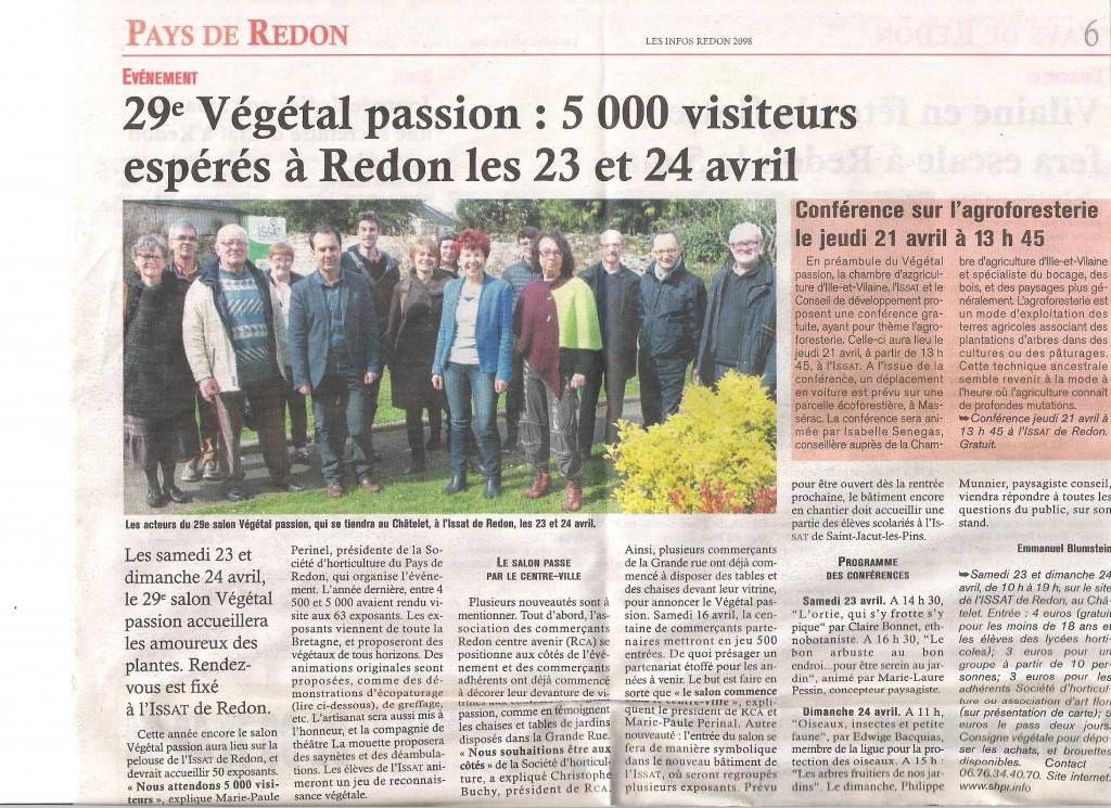 Les Infos du Pays de Redon - Edition du 130416 001