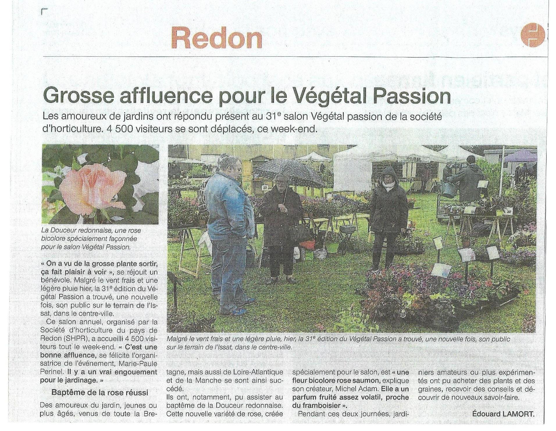 Ouest France du 30 04 2018 A