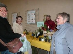 troc plants Annie et Marie-Claude conseilleres plantes